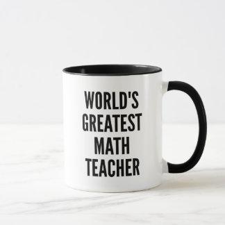 Taza El profesor de matemáticas más grande de los