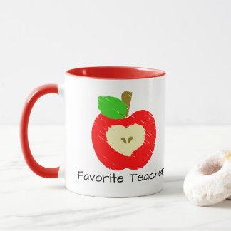 Taza El profesor preferido Apple asalta