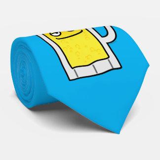 Taza elaborada cerveza feliz del alcohol de la corbata
