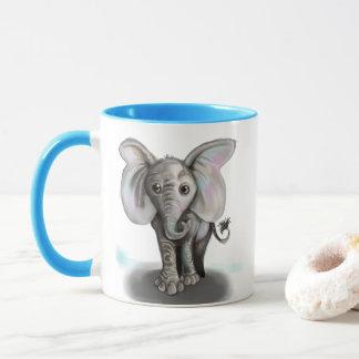 Taza Elefante del bebé