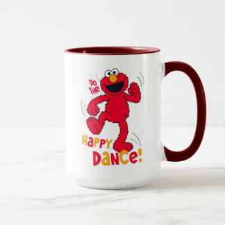 Taza Elmo el | hace la danza feliz