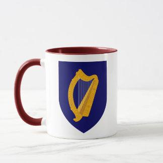 Taza emblema de Irlanda