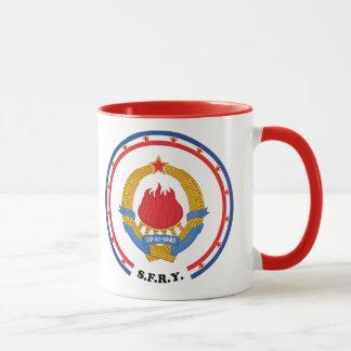 Taza Emblema socialista de República Federal de