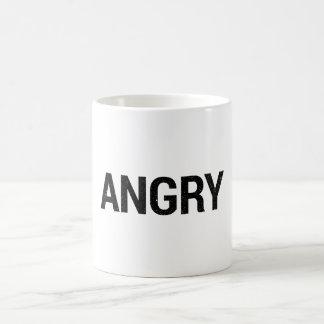 Taza enojada