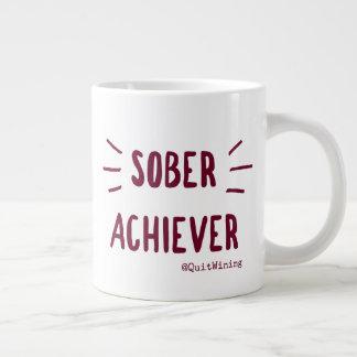Taza enorme #1 del cumplidor sobrio