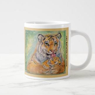 taza enorme del tigre 20oz