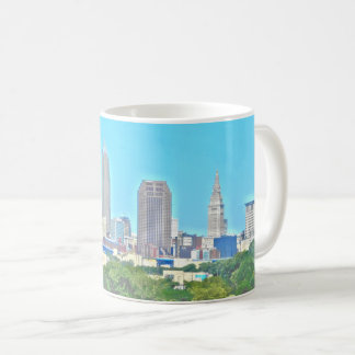 Taza envuelta del horizonte de Cleveland, Ohio