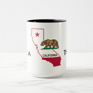 Taza Es UNA COSA de CALIFORNIA al lado de LA PRIMERO