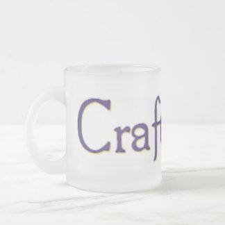 Taza escarchada de CraftLit