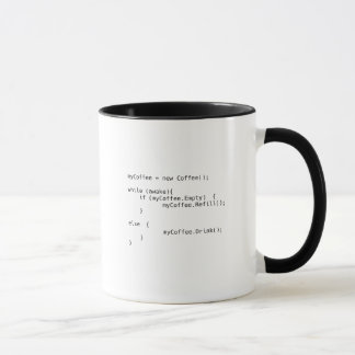 Taza Escritura del café