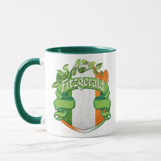 Taza Escudo del irlandés de Fitzgerald