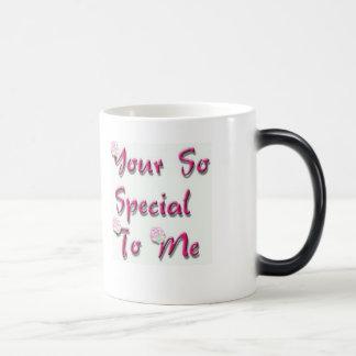 taza especial