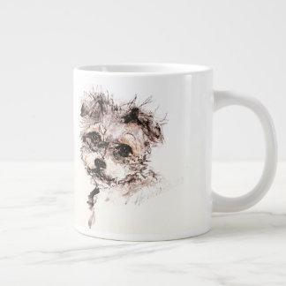 Taza especial del perrito de Yorkshire Terrier por