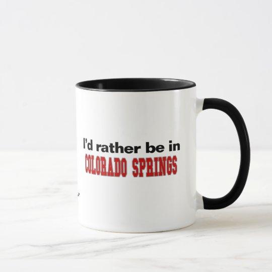 Taza Estaría bastante en Colorado Springs