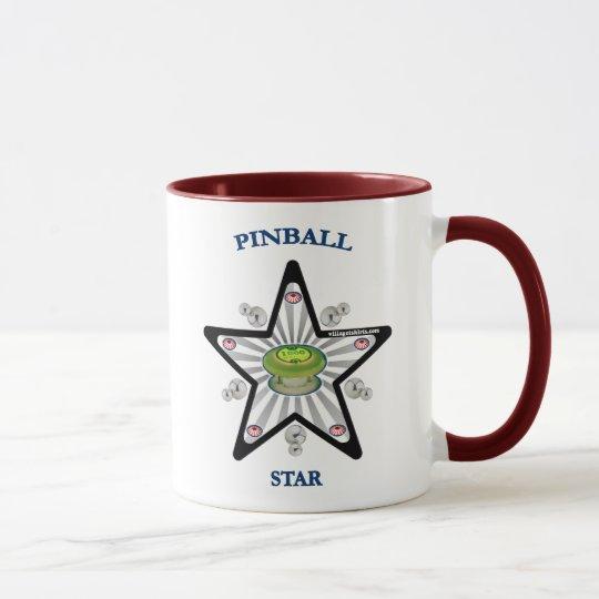 Taza Estrella 1000 del pinball