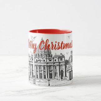 Taza Felices Navidad Roma