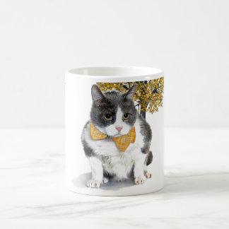 taza:  Felix, el gato, en octubre Taza De Café