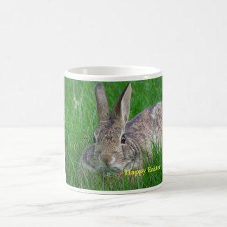 Taza feliz #56 056 del conejo de Pascua