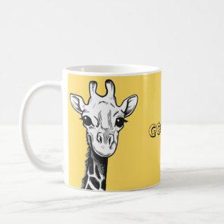 Taza feliz de la jirafa