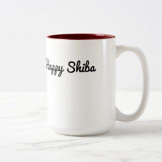 Taza feliz de Shiba