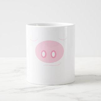 Taza feliz del cerdo el dormir