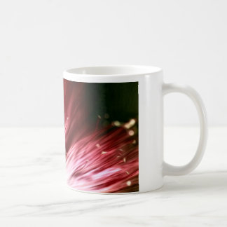 Taza floral oscura