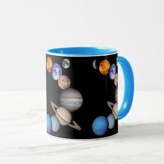 Taza Fotos del planeta del montaje JPL de la Sistema