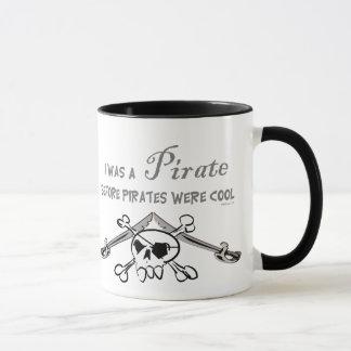 Taza fresca del pirata