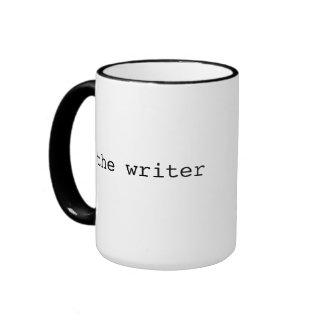 Taza fresca del regalo del escritor