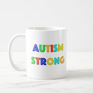 Taza fuerte del autismo