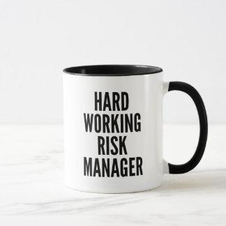 Taza Gestor de riesgos de trabajo duro