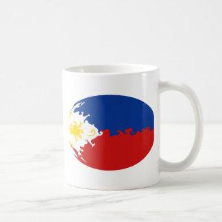 Taza Gnarly de la bandera de Filipinas