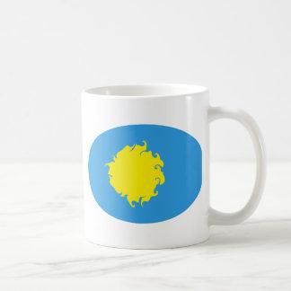 Taza Gnarly de la bandera de Palau