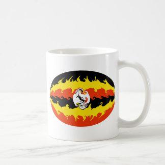 Taza Gnarly de la bandera de Uganda