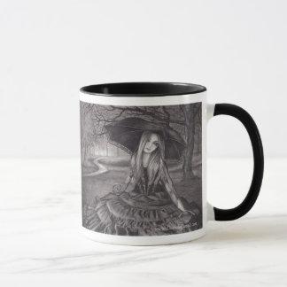 Taza gótica del arte de la taza de Halloween de la