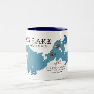 Taza grande de la cabina del lago para nuestros