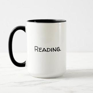 Taza grande de la lectura