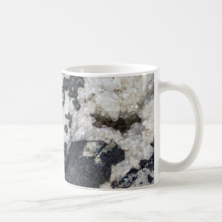 Taza gris del granito y del cuarzo