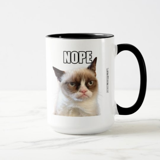 Taza gruñona de Cat™ NOPE