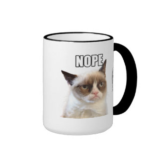 Tazas de grumpy cat de Zazzle