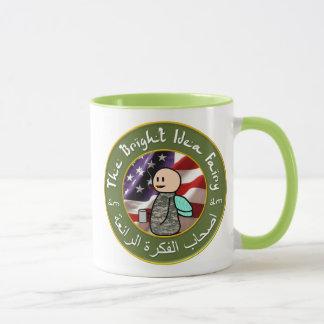 Taza Hada de la idea/taza de café brillantes del club