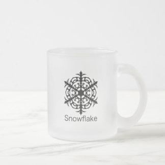 Taza helada copo de nieve