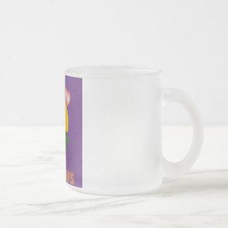 Taza helada del vidrio esmerilado de 10 onzas
