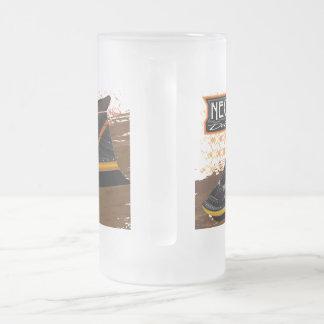 Taza helada del vidrio esmerilado de 16 onzas
