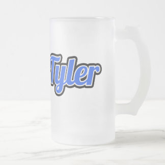 Taza helada logotipo de Greek&Tyler