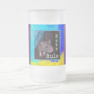 Taza helada regla de las ratas