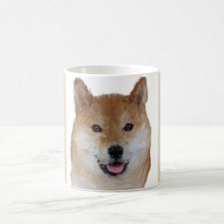 Taza hermosa de Shiba Inu