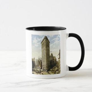 Taza Hierro plano que construye New York City, vintage