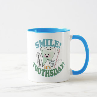 Taza Higienista dental del dentista divertido