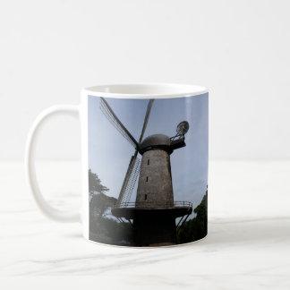 Taza holandesa del molino de viento de San